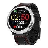 Uhren Smartwatch,Gaddrt Smart Watch Sport Fitness Aktivität Herzfrequenz Tracker Blutdruck Uhr Herzfrequenzmesser, Schrittzähler, Kalorienverbrauchszähler, Blutdruck IP67 (Schwarz)