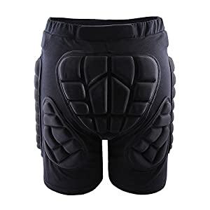 West Biking Protective Gear Adult Kids Hip 3D Padded Shorts Skiing Skating Snowboard Impact Protection