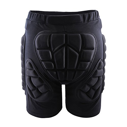 West Biking 3D Padded Shorts Protective Hip Butt Pad Ski Skate Snowboard Skating Skiing Hockey Riding Impact Protection Drop Resistance Roller Derby Compression Pants