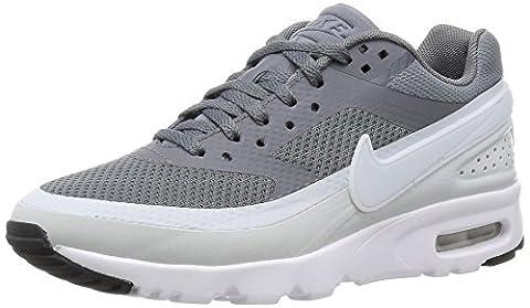Nike W Air Max Bw Ultra, Chaussures de Sport Femme, Gris (gris froid / platine pur - blanc - noir), 39 EU