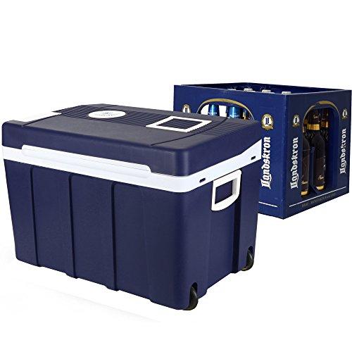 Mini nevera portátil Gino Gelati de 50litros, 2en 1,para mantener caliente o frío, 12y 220V, GG-55W-50L