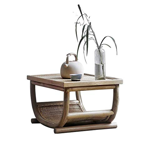Las mesas Centro Antiguo Paja té Tami Baja Dormitorio
