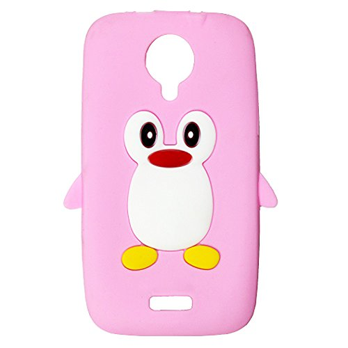 Penguin Soft Silicon Back Case Cover For Micromax Canvas HD A116  available at amazon for Rs.149