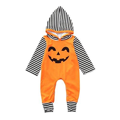 YunYoud Kleinkind Baby Kapuzen Strampler Overall Halloween Kostüm -
