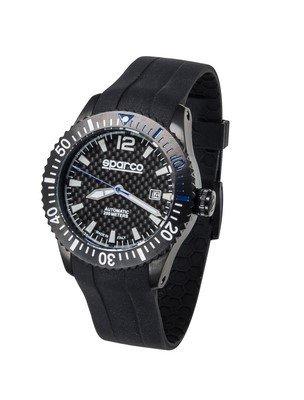 sparco-s099042az-carbon-watch-uhr