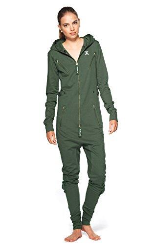 Onepiece Unisex Jumpsuit Air Jungle Green