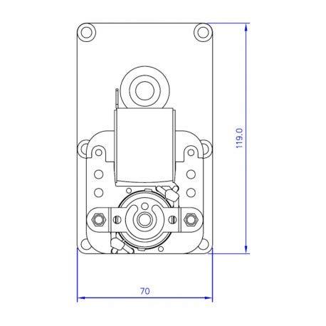 Zoom IMG-3 14702013 motoriduttore stufa pellet 25