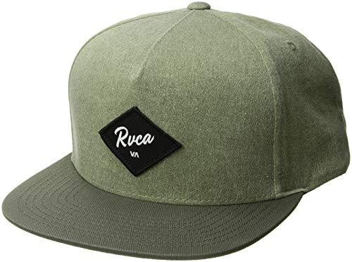 RVCA Herren Wilshire Snapback HAT Baseball Cap, Fatigue, Einheitsgröße - Rvca Baseball