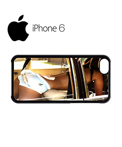 Sexy Girl Car Summer Swag Mobile Phone Case Back Cover Hülle Weiß Schwarz for iPhone 6 White Weiß