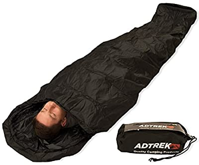 Adtrek Camping/Fishing Waterproof Sleeping Bag Bivvy Bag Cover by Adtrek
