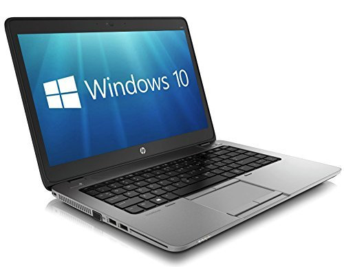 HP EliteBook 840 G1 14-inch Ultrabook (Intel Core i5 4th Gen, 8GB Memory, 180GB SSD, WiFi, WebCam, Windows 10 Professional 64-bit) (Generalüberholt)