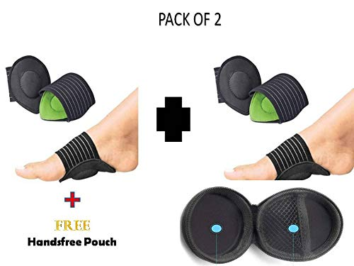 CHANCY Foot Pain Relief Strutz Cushioned Arch Supports 1 Pair, Dimension (13.4 x 12x 3.8 cm) -Pack of 2