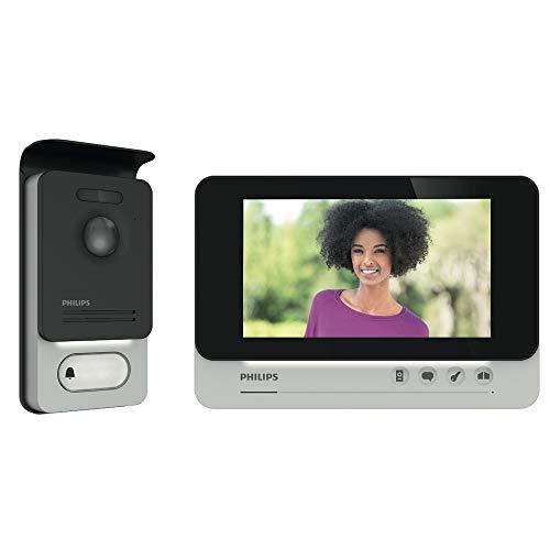 """PHILIPS WelcomeEye COMFORT - Videosprechanlage - 2 Draht Technik - 7"""" Display - DES 9500 VDP"""