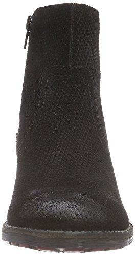 s.Oliver 25319 Damen Kurzschaft Stiefel Schwarz (Black Snake 036)