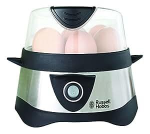 Russell Hobbs 14048-56 Eierkocher (365 Watt) schwarz/silber
