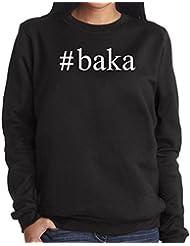 #Baka Hashtag Damen Sweatshirt