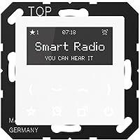 Jung Smart Radio Serie A Alpinweiß, 1 Stück, Rad A 508 WW