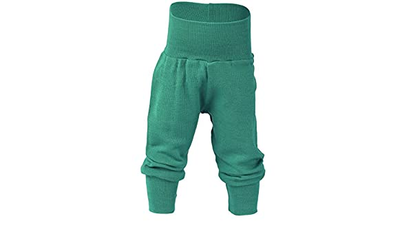1707e1cbdc8a Organic merino wool silk baby PANTS longies pajama bottom eco (6-12 ...