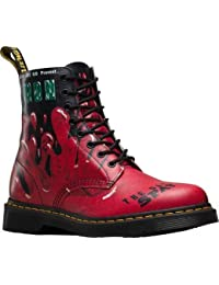 Dr. Martens Pascal 8 trous Spectra brevet Cherry Red Patent Leather
