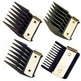 Wahl No.1-4 Attachment Comb Set Metal Backed - WAH3111800