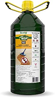 Herbal Strategi – Just Mop Floor Cleaner | Completely Herbal | Disinfectant & Insect Repellent | Made with