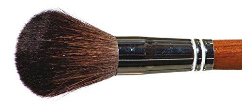 Pinceau blush forme ronde pour application de la poudre