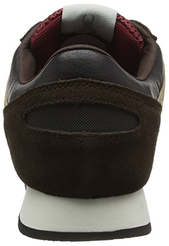 FLY London Pecu840fly, Baskets Basses Homme Marron (Mocca/taupe/black 001)