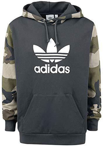 adidas Camo Oth Hoody Hooded Sweat, Herren M Schwarz (Utility Black) Adidas Originals Hoodie Hoody