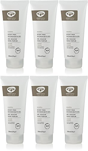 (6 PACK) - Green People - Neutral Scent Free Shower Gel | 200ml | 6 PACK BUNDLE by Green People