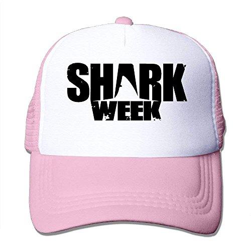 Suxinh Shark Week Mesh Trucker Caps/Hats for Unisex Fußball Mesh Trucker Hat-cap
