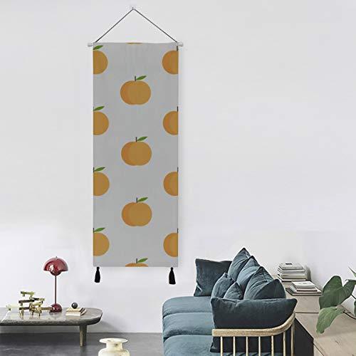 WYYWCY Aprikose frische Früchte Wandkunst Panels Druck Leinwand 13 Zoll Breite X 47 Zoll Lange Moderne Wohnkultur Leinwand für Wandkunst Wandkunst Dekor Wohnzimmer