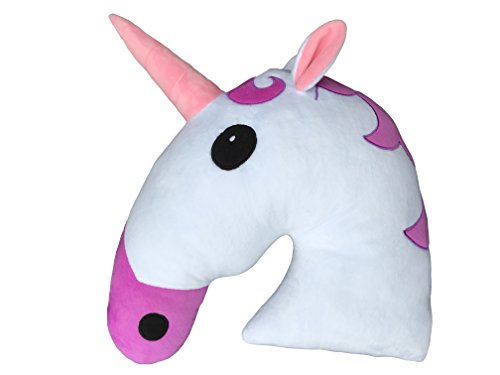 35CM-Large-Emoti-Pillow-Unicorn-Emoticon-Cushion-Desire-Deluxe-Happy-Face-Emoticon-White-Stuffed-Plush-Soft-Face-Doll-Toy-Decor-12-Month-Quality-Warranty-Unicorn