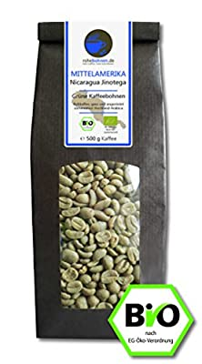 Organic green coffee beans Nicaragua (highland raw coffee beans) by Rohebohnen