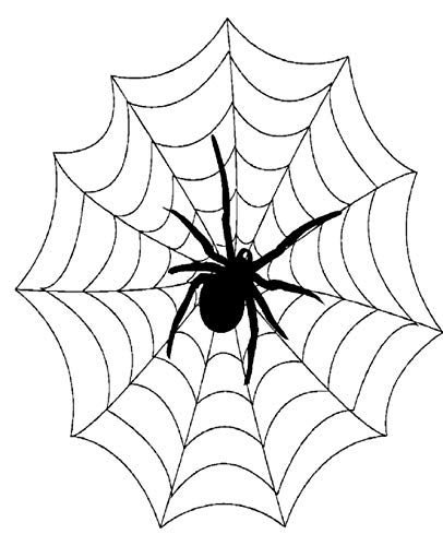 Spider Web Design School Composition Book 130 Pages: (Notebook, Diary, Blank Book) (Halloween Theme School Composition Books Notebooks) ()