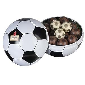 Leysieffer – Fussball-Dose mit Schoko-Fußbällen, 200g