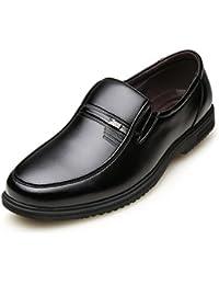 Business casual zapatos de primavera y otoño/Calzado hombre poner el pie en el anciano/zapatos de padre del papá