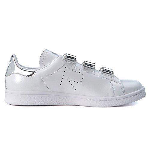 adidas adidasBB2681 RAF Simons Stan Smith Confort Bb2681, Herren, weiß/Silber Herren, (White/Silver Mirror), 40 EU D(M)