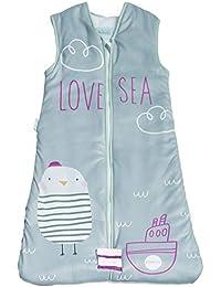 Pekebaby Saco de Dormir bebé 6-18 Meses Love Sea 2.5 TOG