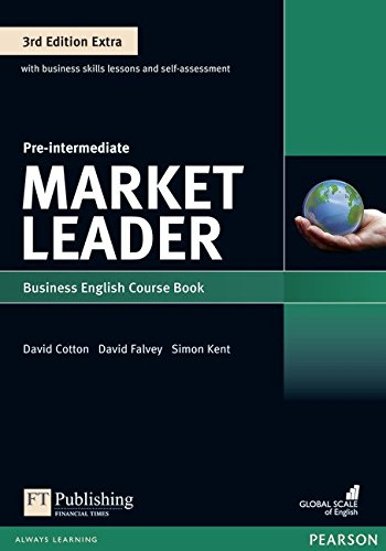 Market Leader Extra Pre-Intermediate Coursebook with DVD-ROM Pin Pack por Clare Walsh