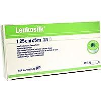 LEUKOSILK 1,25 cmx5 m 24 St Pflaster preisvergleich bei billige-tabletten.eu