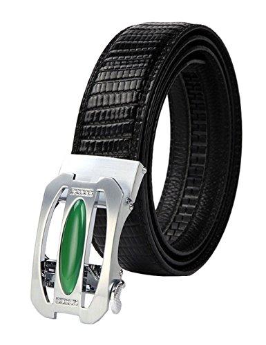 menschwear-mens-full-gebuine-leather-belt-adjustable-automatic-buckle-35mm-135-white