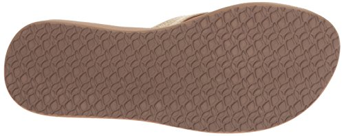 Reef Star Cushion Sa, Sandales Plateforme femme marrón