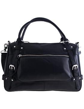 Handtasche aus gewachstem Rindleder von Shalimar