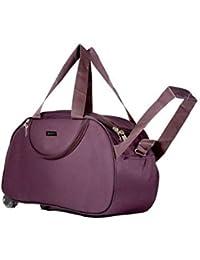 alfisha PU Purple Travel Bag, 2300cm