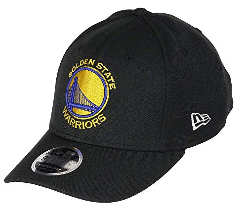 New Era 9Fifty Stretch Snap Golden State Warriors Cap, S/M, Black -