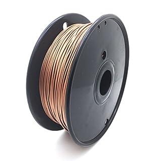 AptoFun Metal- Red-Copper Filament (1.75mm, 500g, 190 ° C - 230 ° C) with premium quality for 3D printer MakerBot RepRap MakerGear Ultimaker etc. / also for 3D pens