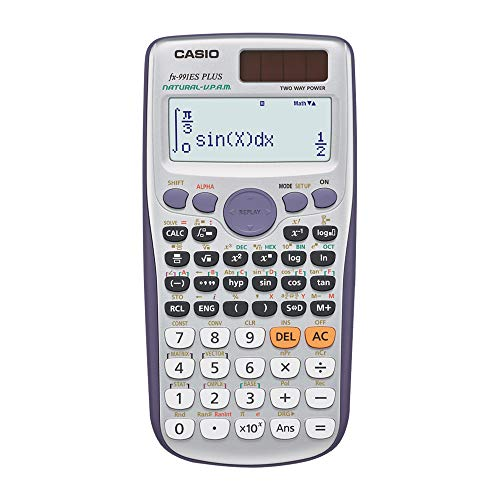 Casio FX-991ESPLUS Calculatrice scientifique (Import Royaume Uni)