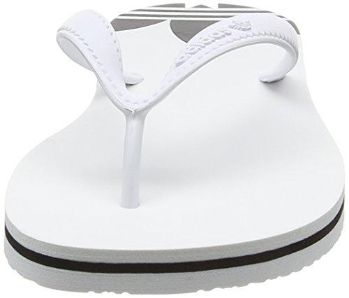adidas Adisun, Scarpe da Spiaggia e Piscina Donna Bianco (Ftwr White/ftwr White/core Black)