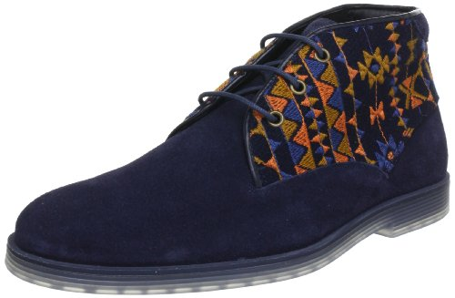 Swear London LOGAN11, Stivaletti uomo, Multicolor (Mehrfarbig (NAVY SUEDE-TAPESTRY/NAVY SOLE)), 41