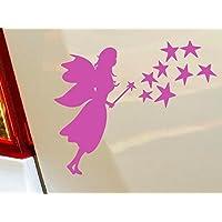 Polvere di fata ragazze Star Bambini Animali Divertenti Hobby Drift per auto, finestra divertenti vinile van Laptop Cuore Decor Home Live Kids Funny–Sticker, decalcomania da parete